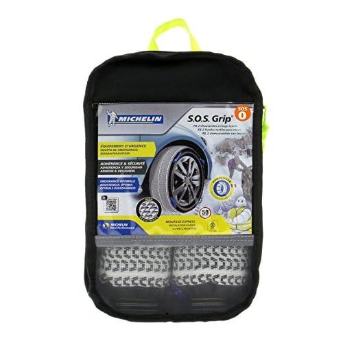Michelin 008400 SOS Grip Chaussettes à Neige Textile