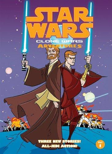 [Star Wars: Clone Wars Adventures, Volume 1 (Star Wars: Clone Wars Adventures (Hardcover))] (Star Wars The Clone Wars 1)