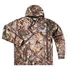 Dunbrooke Apparel NFL Tennessee Titans Adult Trophy Realtree Xtra Polyester Tech Fleece Full Zip Hoodie, 2X, Camo