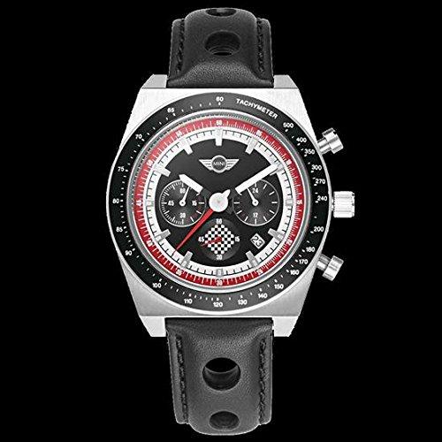 Genuine MINI Cooper Men's Silver Chronograph Watch