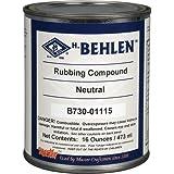 Behlen T23434 Rubbing Compound, 1 Pint