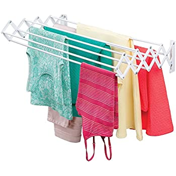 Amazon Com Polder Retractable Folding Clothes Dryer Wall