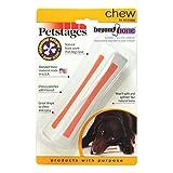 Petstages 598 Beyond Bone Synthetic Chew Dog Toy White, Medium