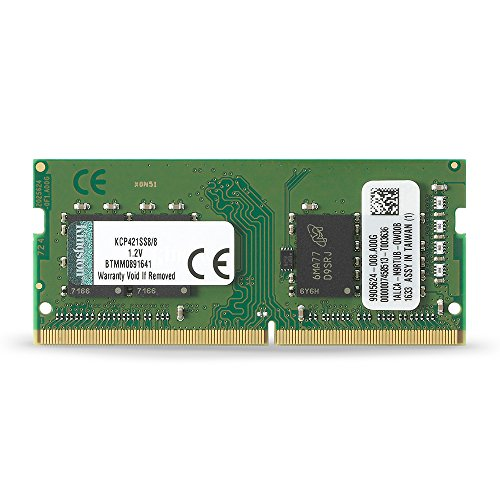 Kingston Technology 8GB DDR4 2133MHz SODIMM Memory Acer, Dell, Fujitsu, & Lenovo Laptop KCP421SS8/8
