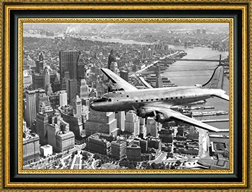 (Flying Over Manhattan, NYC by Anonymous - 21.25