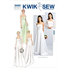 Kwik Sew K3400 Gowns and Bolero Sewing Pattern, Size XS-S-M-L-XL