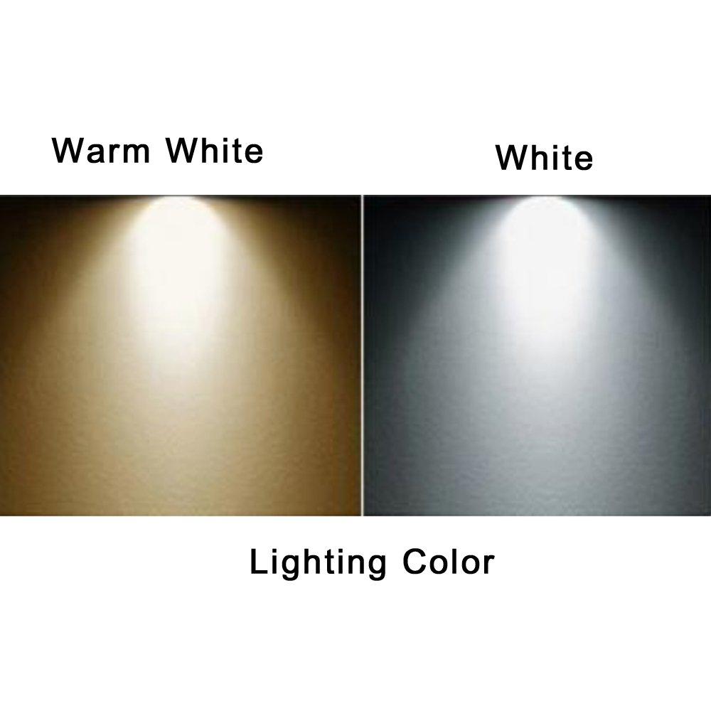 NAJING 10pcs LED Plastic Model Park Courtyard Lamp Post Single Head Street Lights HO OO Scale Warm White LEDs 3V DC