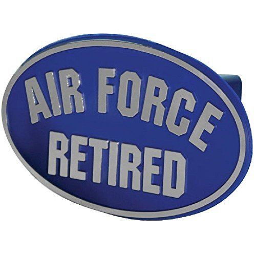 US Air Force Retired ABS Hitch Cover with Quick ()
