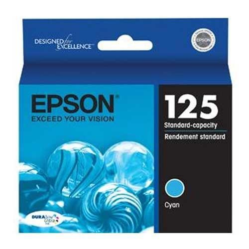 Epson Stylus(R) NX125/127/130/230/420/625/Worforce(TM) 320/323/325/520 DURABrite Ultra Cyan Ink (335 Yield) Cyan Ultra Ink Ctg, Part Number T125220