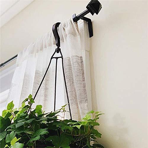 Best Design 1 Set Hanger Curtain Rod Holders Tap Right Into Window Frame Bracket 3d10, Curtain Rod Iron - Iron Drapery Brackets, Western Curtain Rod, Double Drapery Rods, Curtain Rods Brackets by Banette