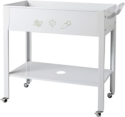 Catral 53010172 - Huerto urbano trolley, 43 x 83 x 82 cm, color ...