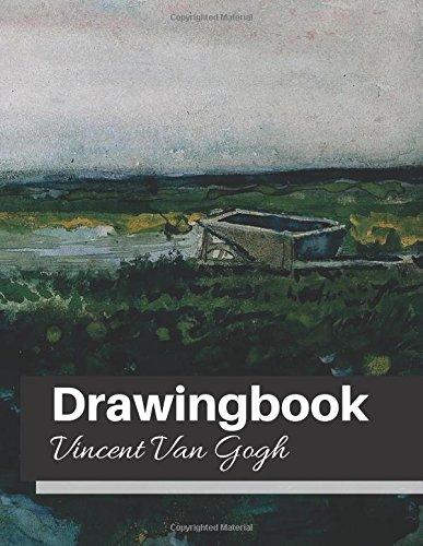 drawingbook vincent van gogh drawingbookdrawing book for adultsall blank sketchbookvan gogh notebook volume 37