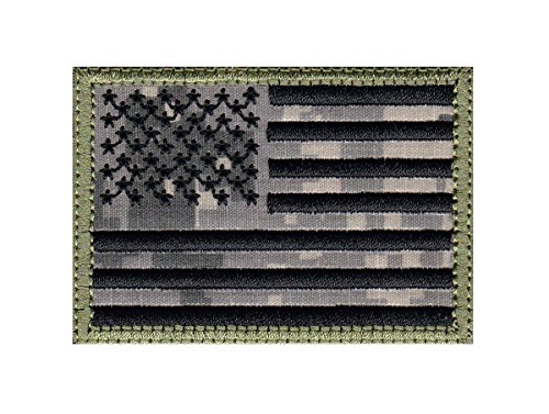 MULTI OPTION Full United States Flag US Flag Tactical Morale