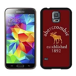 Fahionable Custom Designed Samsung Galaxy S5 I9600 G900a G900v G900p G900t G900w Cover Case With Abercrombie and Fitch 9 Black Phone Case