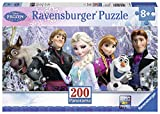 Ravensburger Disney Frozen Friends Panorama 200 Piece Jigsaw Puzzle for Kids - Every Piece is Unique, Pieces Fit Together Perfectly