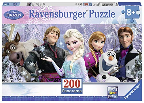 - Ravensburger Disney Frozen Friends Panorama 200 Piece Jigsaw Puzzle for Kids - Every Piece is Unique, Pieces Fit Together Perfectly