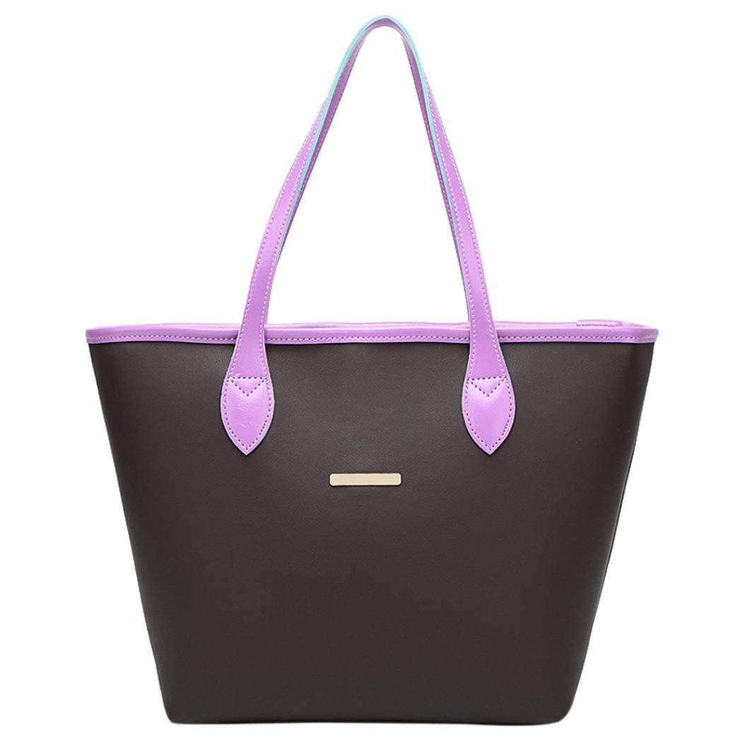 a3812d3cfe1e Amazon.com: VIASA Fashion Women Leather Handbag Shoulder Bag Tote ...