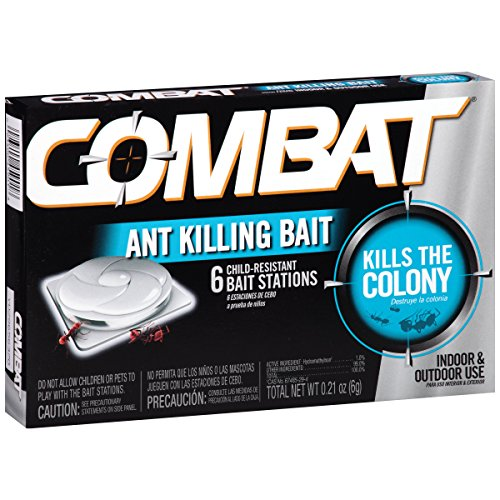 Combat Ant Killing System, Child-Resistant, Kills Queen & Colony, 6/Box, Sold as 1 Box