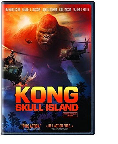 Kong  Skull Island  Bilingual   Dvd   Uv Digital Copy