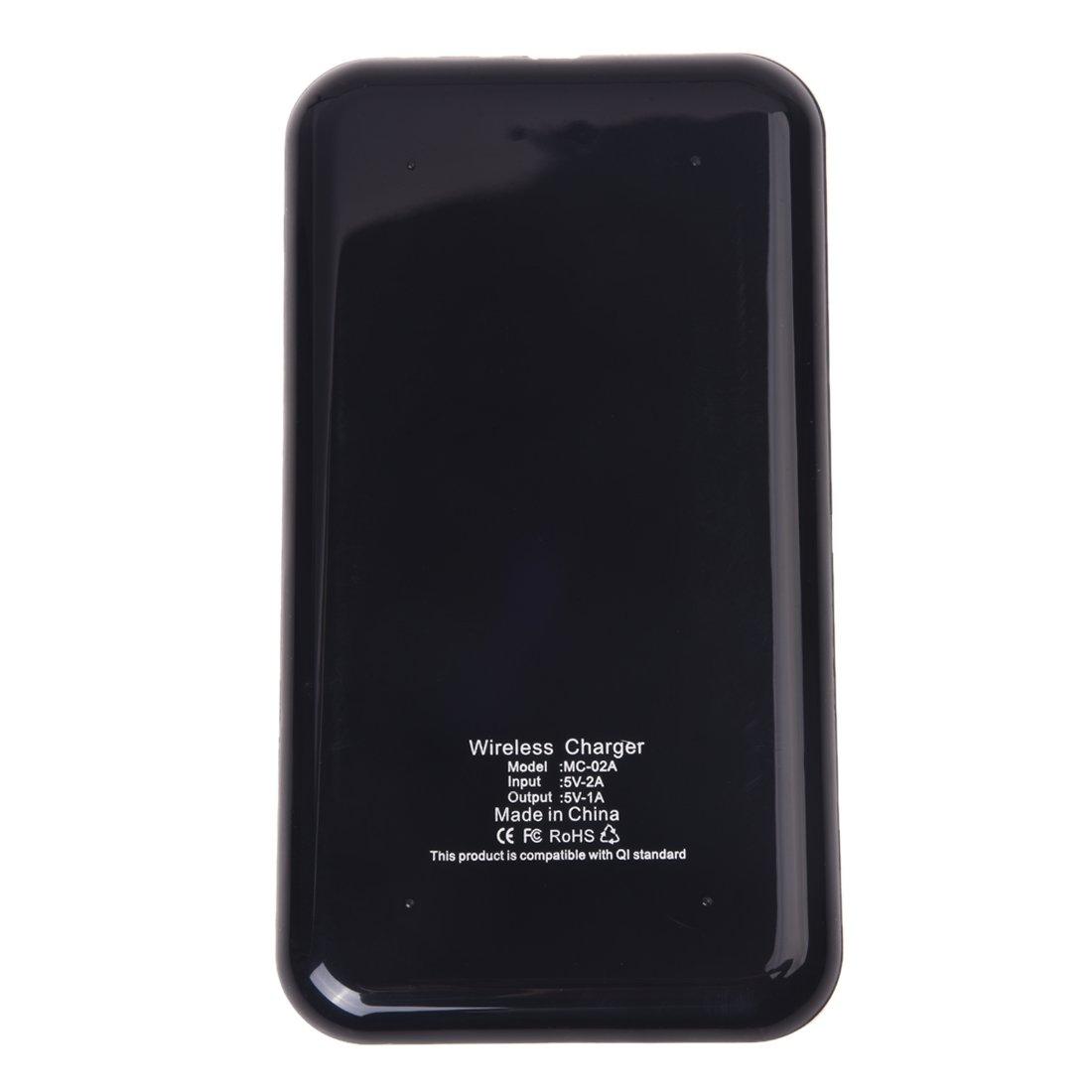 Amazon.com : SODIAL (R)cargador Wireless Qi energia Cargador ...