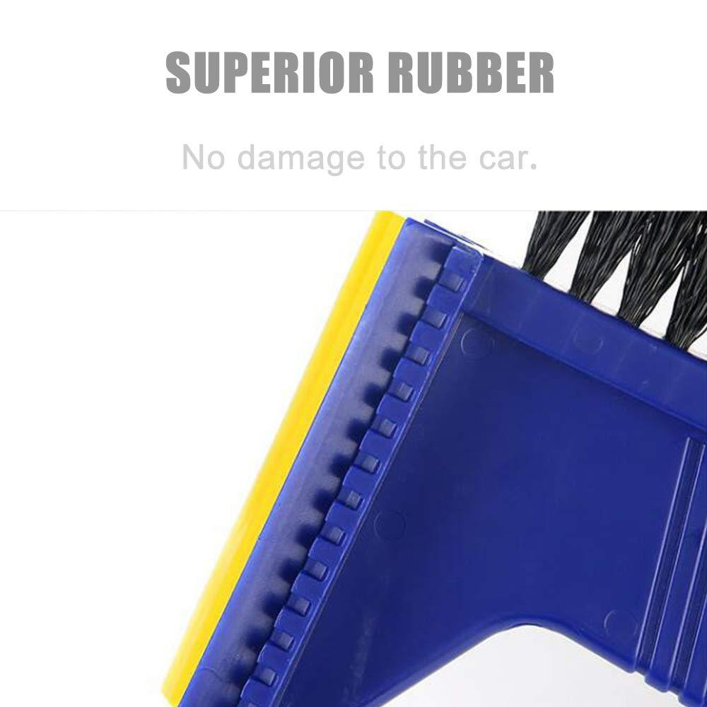 Culturemart Multifunctional Car Snow Brush Shovel Windshield Window Ice Scraper Snow Remove Escape Emergency Safe Hamer Accessories