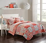 Style House Isadora Quilt in a Bag, Full, Salmon