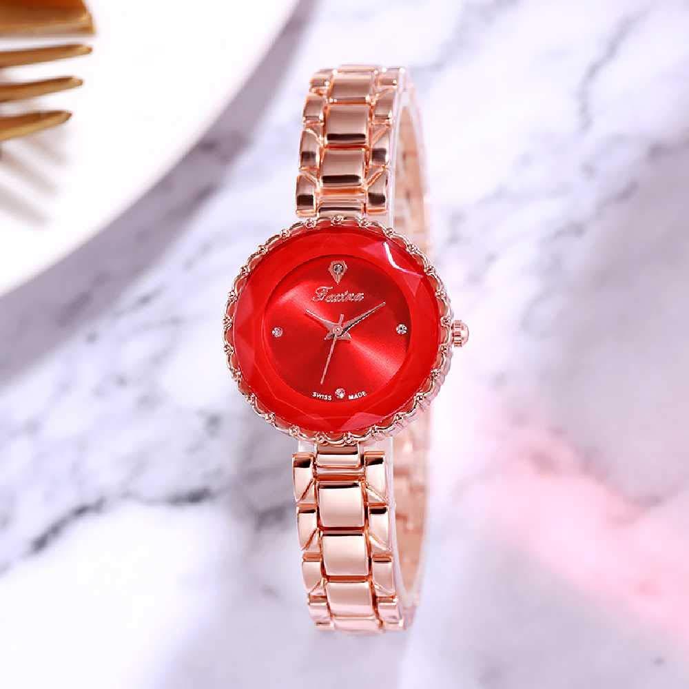 Shizhen Reloj De La Sra. Impermeable Cisne Pulsera Reloj De La Sra ...