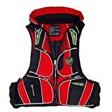Adult Swimming Fishing Life Jacket Multi-Pocket Buoyancy Life Vest For Drifting Boating Survival Fishing Water Safety Jacket Sport Wear