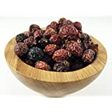 3L Global Herbs - 100% Organic Whole Dried Rose Hips - High Vitamin C content - 1 Pound (16 Oz)