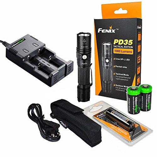 Fenix PD35 1000 Lumen CREE XP-L LED Compact Tactical ...