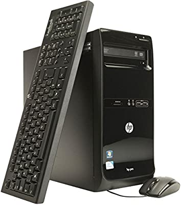 HP Compaq Pro 3500 MTW High Performance Business Tower Desktop Computer, Intel i5-3470 up to 3.6GHz, 8GB RAM, 128GB SSD + 500GB HDD, DVD, WIFI, DIV, VGA, Windows 10 Pro (Certified Refurbished)