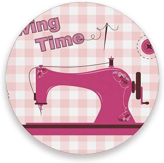 DEZIRO tapete multiuso para máquina de coser vintage, color rosa ...