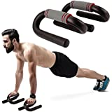 Bulfyss S Shape Push up Bar Stand (Multicolour)