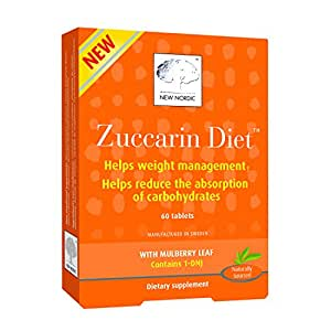 New Nordic Zuccarin Diet With Mulberry Leaves For Weight Management Tablets, 60 Ea (pack of 1)