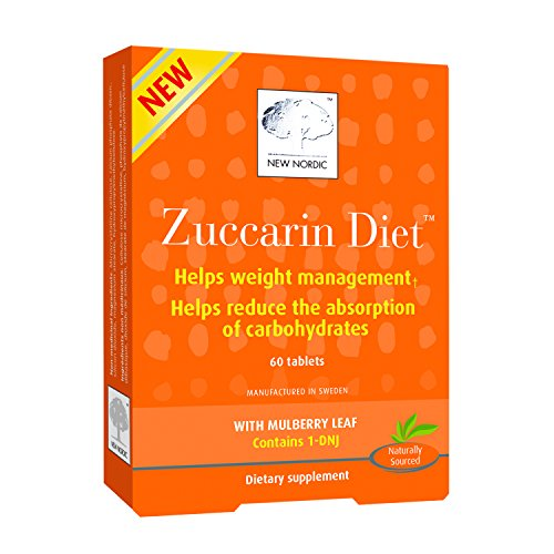 New Nordic Zuccarin Diet With Mulberry Leaves For Weight Management, 60 Tablets Helps Reduce Carbohydrate ()