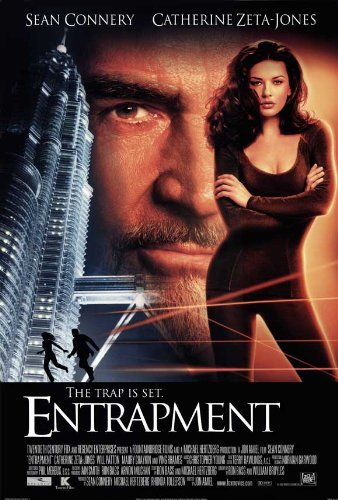 Decorative Wall Poster Entrapment POSTER Movie (27 x 40 Inches - 69cm x 102cm) (2000) (Style B)
