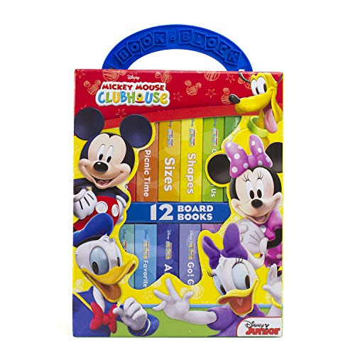 disney mickey mouse clubhouse deluxe my first library