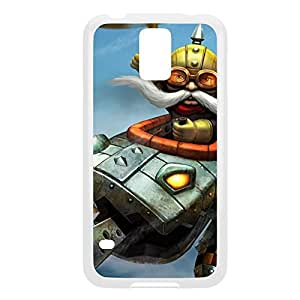 Corki-001 League of Legends LoL For Case Iphone 6 4.7inch Cover - Plastic White
