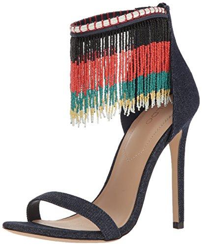 Women's Aldo Dress Franssie Blue Medium Sandal 4wqwdCO