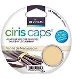 DEVINEAU 1601817 Ciris Caps 4 Diffuseur Capsules de Cire Vanille de Madagascar