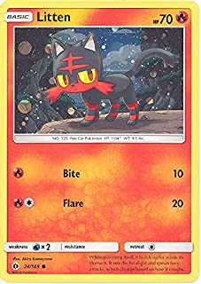 product image for Pokemem Litten 24/149 Incineroar GX Cosmos Holo Premium Collection Box Promo