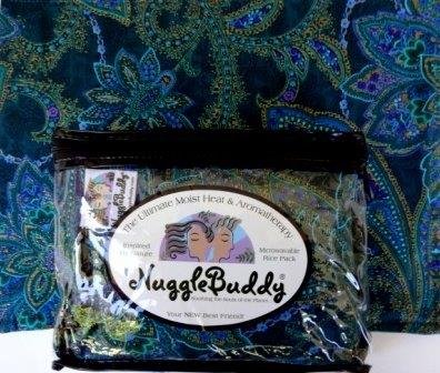'NUGGLEBUDDY Microwavable Moist Heat & Aromatherapy Organic