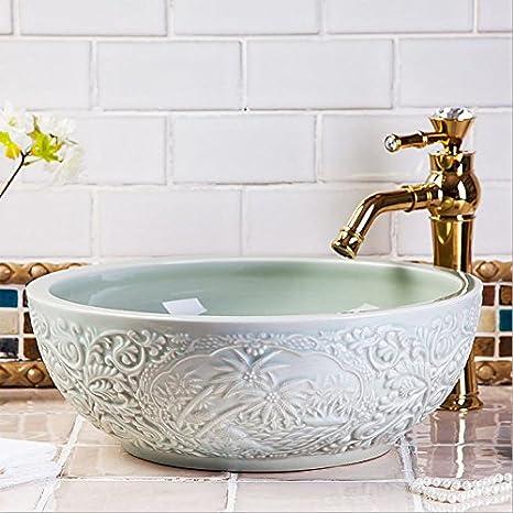 Vaso bagno lavandino arte Lavabo,l\'arte ceramica bacino Wc lavabo ...
