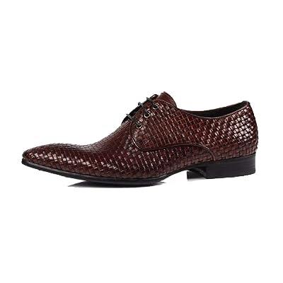 YCGCM Chaussures en Cuir pour Hommes Version Européenne des