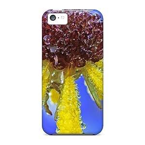Premium Phone Case For Iphone 5c/ Yellow Petels Tpu Case Cover
