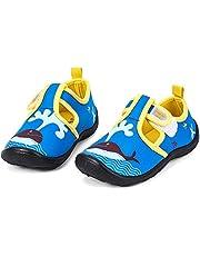 nerteo Boys Girls Cute Aquatic Water Shoes & Beach, Swim, Pool, Water Park & Toddler/Little Kid