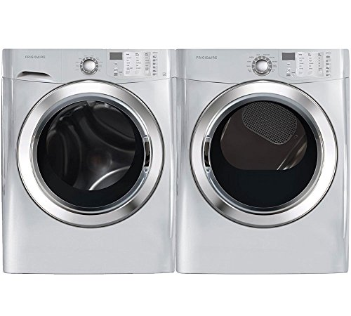 Frigidaire Silver Front Load Laundry Pair with