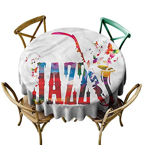 familytaste Music,Table Decoration Supplies Jazz Theme with Saxophone D 60