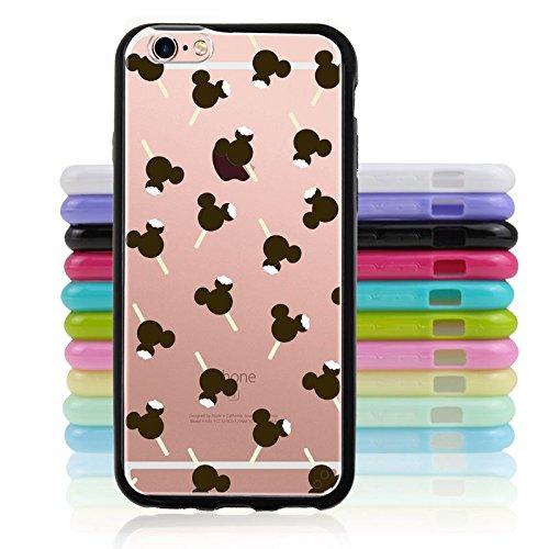 [iPhone 6 / 6S, Black Edge Case Photo - Bear Head Overload] (Disney Ideas Costumes)