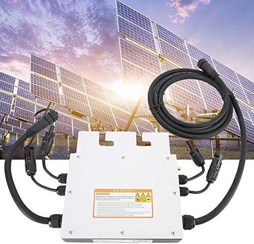 IP65 Wasserdichte 700 Watt Micro Solar Wechselrichter Konverter, SG600MD 120 V 230 V Grid Tie Wechselrichter Solar Grid Tie Wechselrichter Hybrid Solar Wechselrichter Solar Wechselrichter Grid Tie 2,4